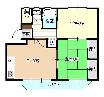 オリオン・サンセット 204号室