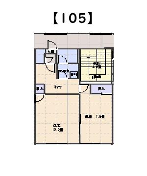 スマイリング本間 A棟 105号室