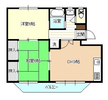 オリオン・サンセット 203号室