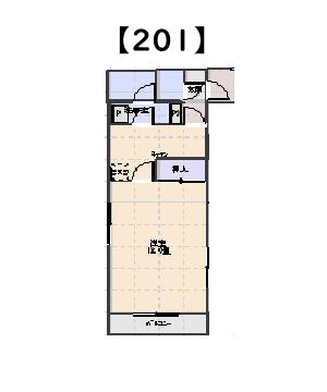 スマイリング本間 B棟 201号室